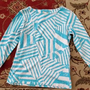 Long sleeve patterned shirt